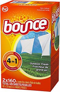 Bounce Outdoor Fresh (Old Version) HE, 320 Sheet