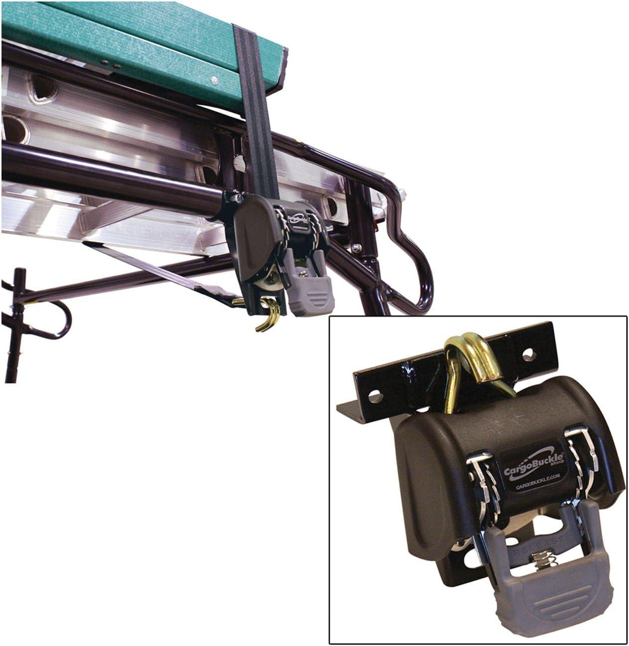 1.25 Square 7 Pair 40790 CargoBuckle Ladder Rack System
