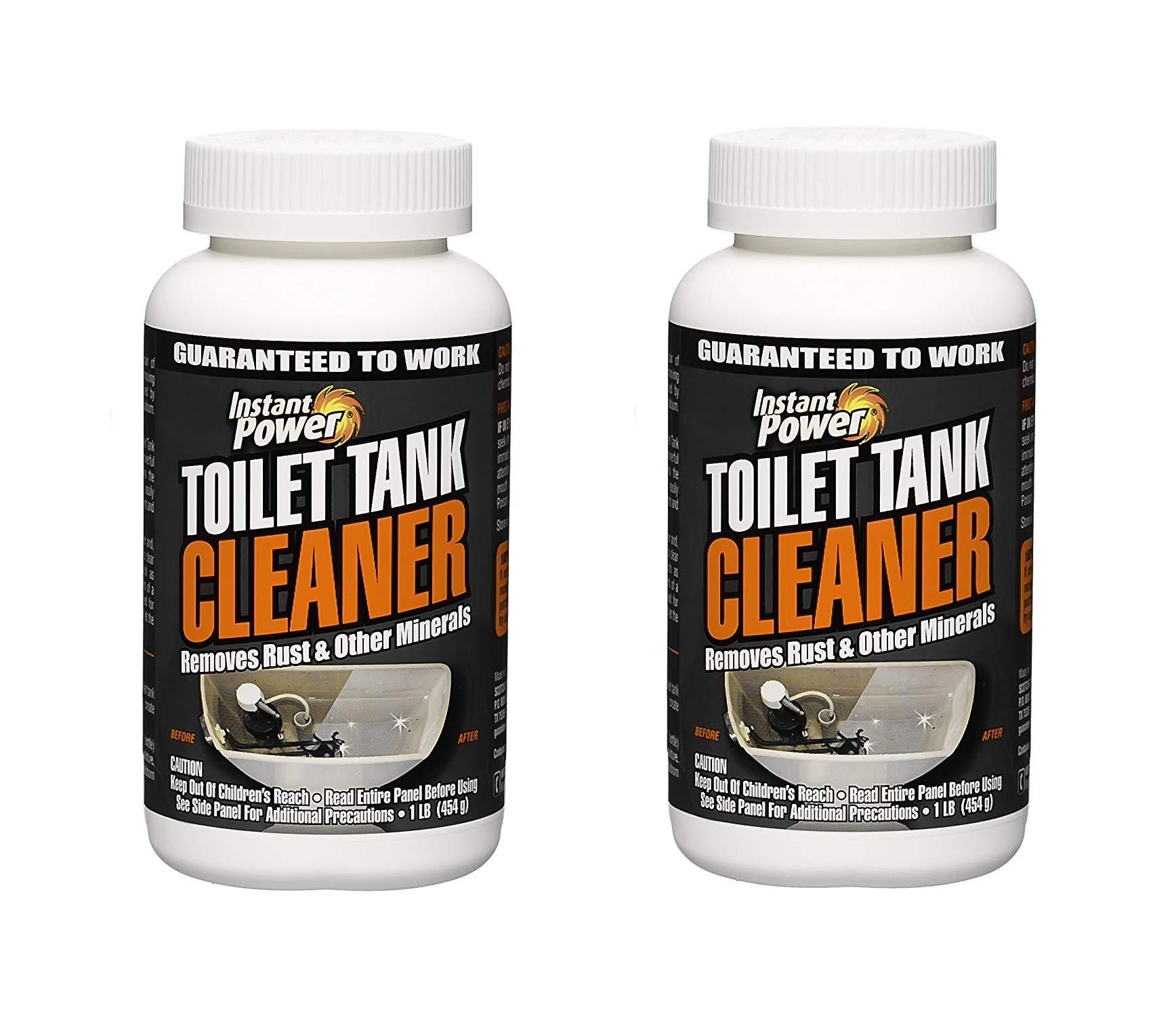 Instant Power 1806 Toilet Tank Cleaner, 16 oz (Тwo Рack, White)