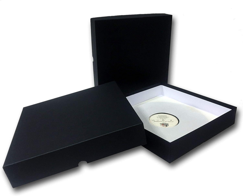 Caja para ARCHIVAR Discos DE Vinilo LP: Amazon.es: Electrónica