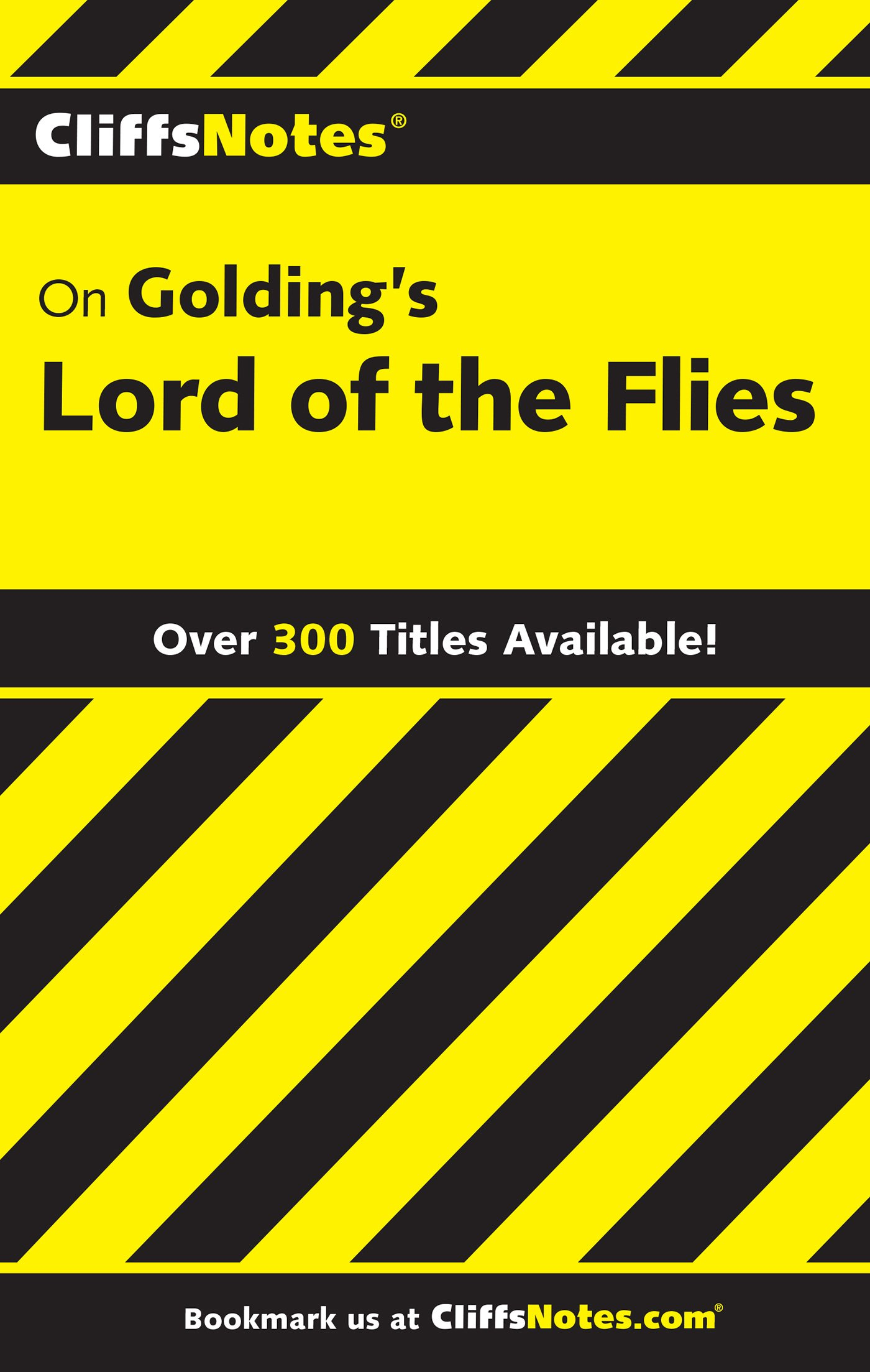 com cliffsnotes on golding s lord of the flies  com cliffsnotes on golding s lord of the flies cliffsnotes literature 9780764585975 maureen kelly books
