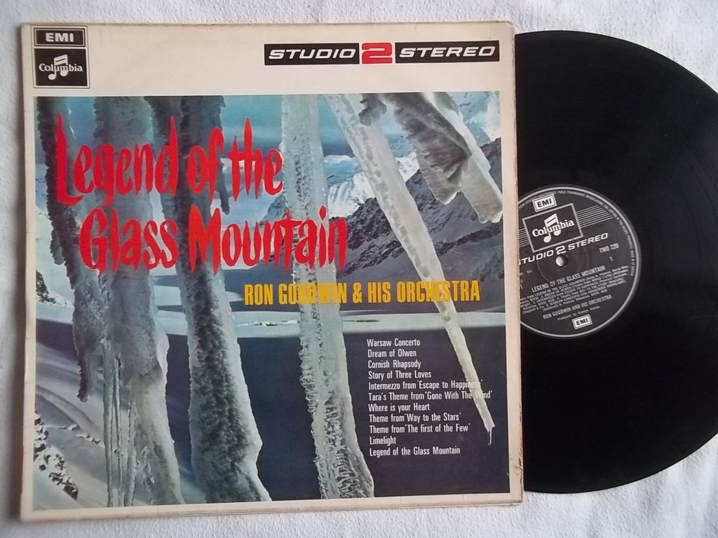 RON GOODWIN & HIS ORCHESTRA Legend of the Glass Mountain LP ...