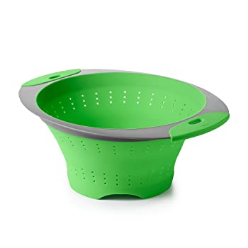OXO Good Grips 3.5-Quart Silicone Collapsible Colander