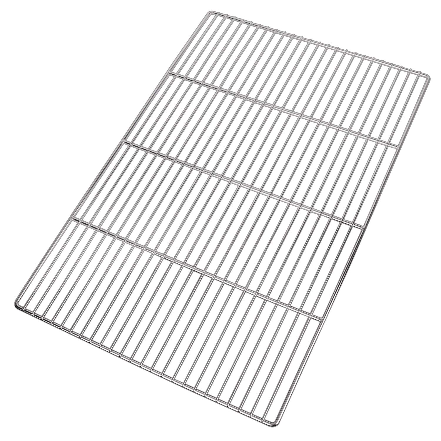 LANEJOY Barbecue Wire Mesh, Stainless Steel BBQ Grill Mat, Multifunction Grill Cooking Grid Grate 2 Pack by LANEJOY