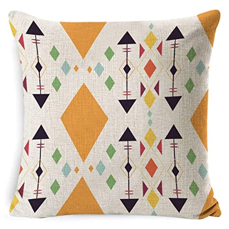 ZBZ Throw Pillow Covers - Estampado geométrico Almohada ...