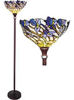 Chloe Lighting CH38B01TF Iris Torchiere Floor Lamp
