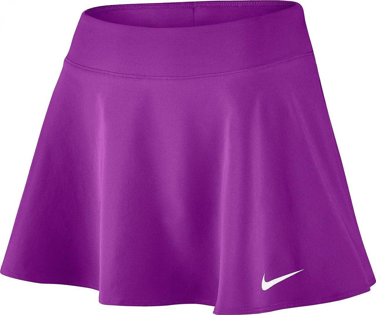 Nike W Nkct FLX Pure Skirt Flouncy Falda De Tenis, Mujer, Morado ...