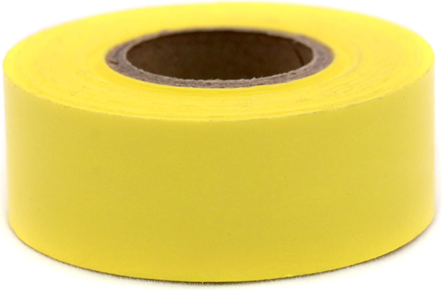 ChromaLabel 1 Inch Clean Remove Color-Code Tape, 500 Inch Roll, Yellow