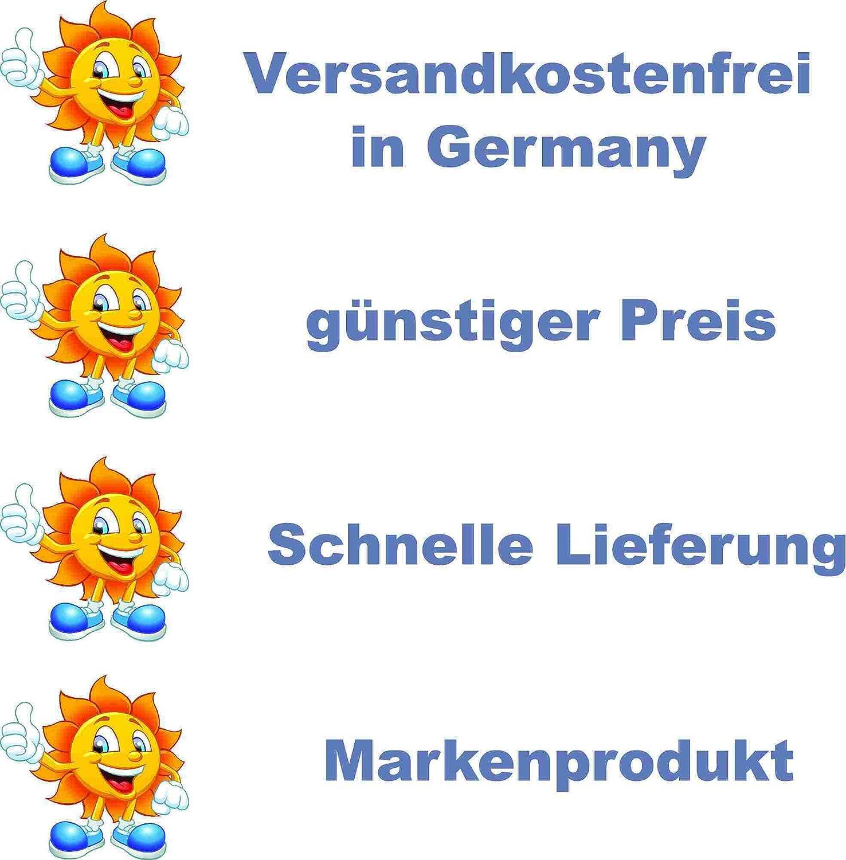 Warnhinweis 20 x 30 cm gelocht /& Kit Wir verzichten auf H/ändesch/ütteln kleberio/® Schild Warnschild