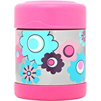 Thermos FUNtainer Insulated Food Jar, 290ml, Flower, F3000FL6