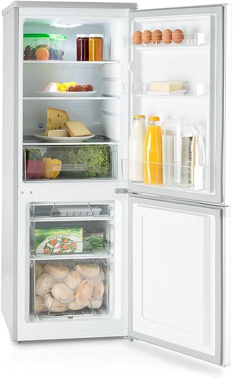 KLARSTEIN Bigpack Nevera Congelador Combinado - Capacidad 160 ...