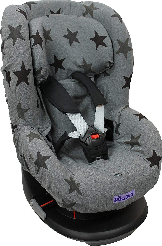Grey Stars DOOKY Original 2in1 Copri Seggiolino Auto Universale Gruppo 1+