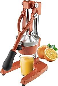 Clever Chef Professional Heavy Duty Citrus Juicer, Premium Manual Orange Press and Lemon Squeezer, Orange