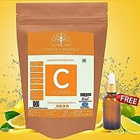 Hollywood Secrets 100% Pure Organic Vitamin C Powder L Ascorbic Acid For Face Skin Whitening (100 Gm)