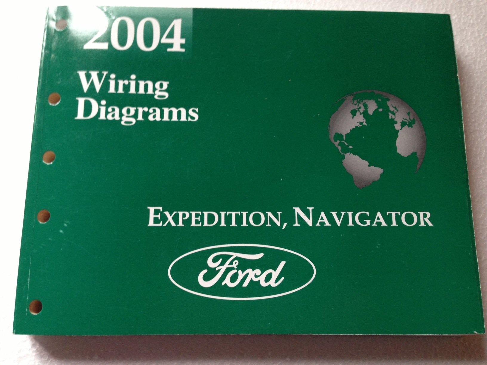 2004 ford expedition lincoln navigator wiring diagram manual original  paperback – 2004