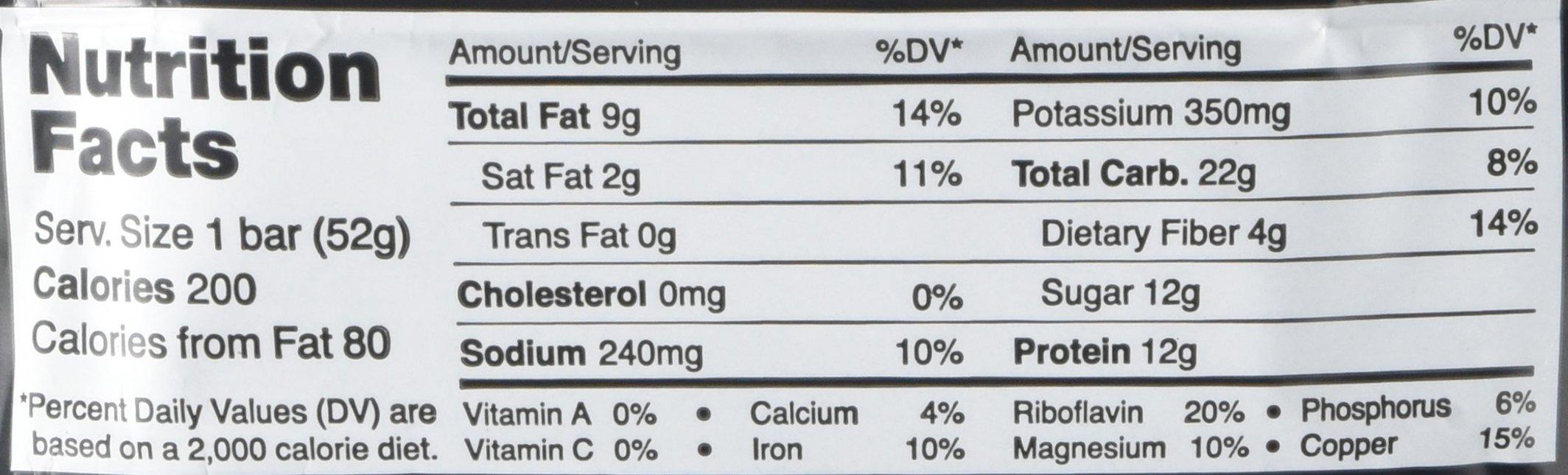 Rx Bar Chocolate Sea Salt, Protein Bar, 1.83 Oz, 12 Count by RXBAR (Image #2)