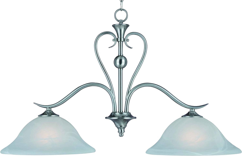 Hardware House H10-4104 Dover Kitchen Light or Bar Light, Satin Nickel