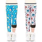 OioTuyi Leggings Lana Invierno Térmicos Algodón Forros Para Niña En Mallas Leggings Puntos Elástico Pantalones Plus…