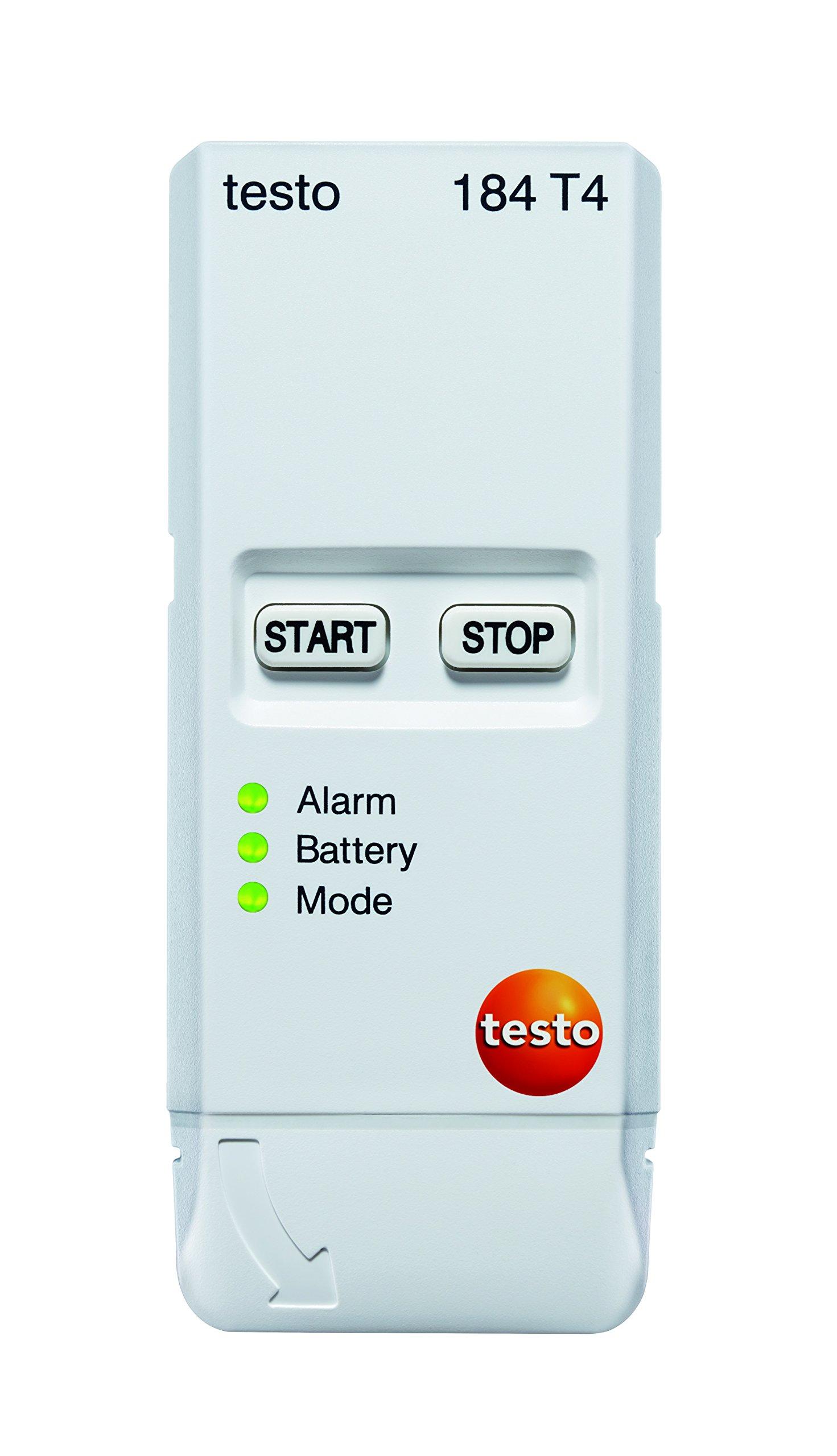 Testo 184 T4 (0572 1844 01) Cryogenic Temperature USB Transport Data Logger