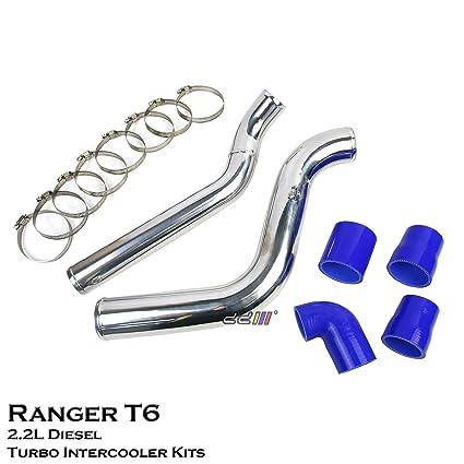 Amazon.com: Aluminium Turbo Intercooler Piping Direct Bolt For Ranger T6 Diesel 2.2L 2012++: Automotive