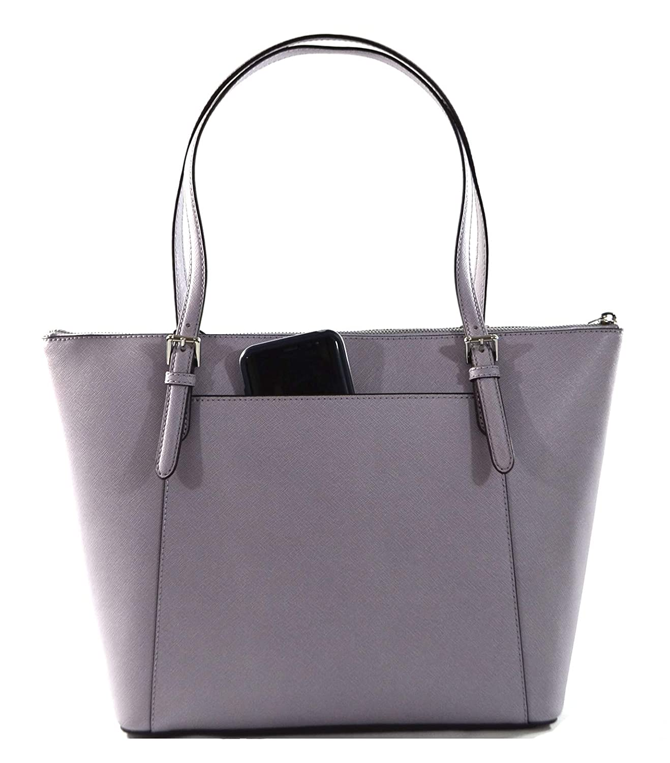 a0afb9591656 Michael Kors Women's Ciara Large East West Top Zip Leather Tote - Brown/ Acorn: Handbags: Amazon.com
