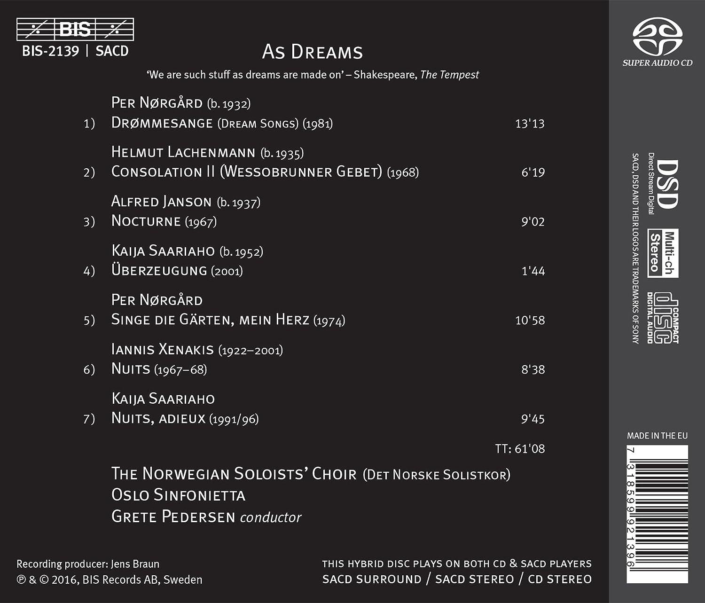 Amazon.com: As Dreams: Music
