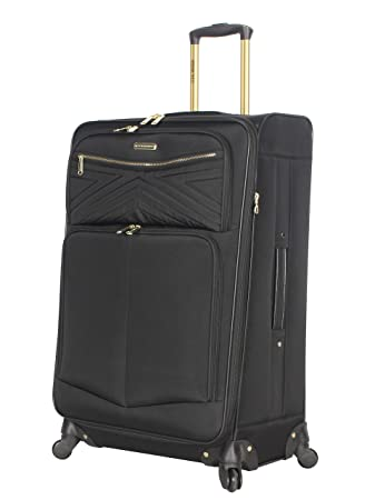Amazon.com: Steve Madden maleta grande de 28 pulgadas con ...