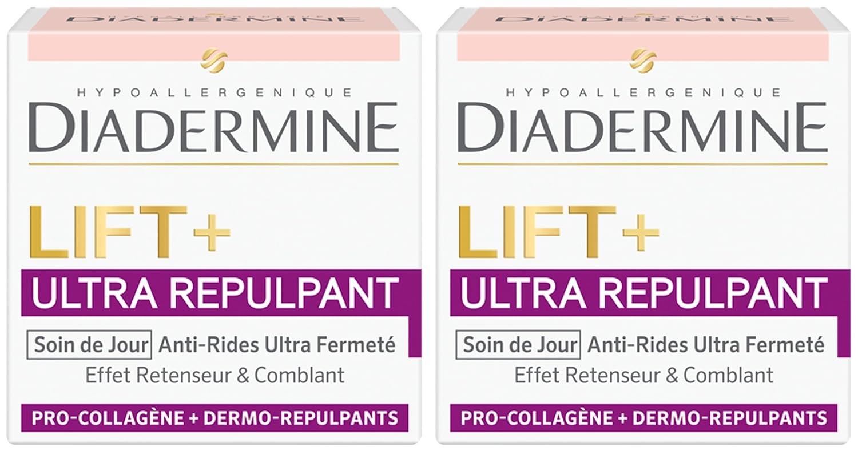 Diadermine Lift, Ultra Repulpant Crème Jour 50 ml - Lot de 2
