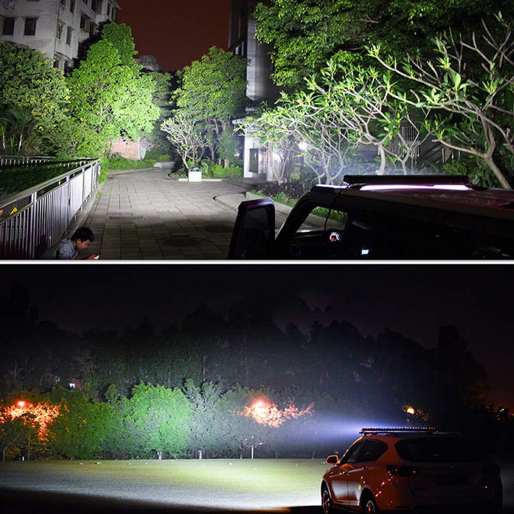 Off-road,Cami/ón,Moto,Barco UTV ATV 23 648W Faros Trabajo LED 12V-24V Barra LED IP68 Impermeable Luz de Niebla para Coche,SUV FOREVERED Focos LED Tractor