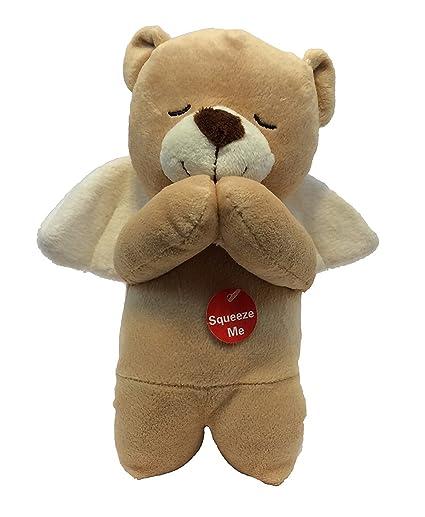 Amazon Com Linzy Toys Prayer Angel Bear Soft Teddy Plush Recites