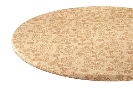 amazon com fox valley traders the kathleen vinyl elasticized table rh amazon com elasticized table cover rectangle elasticated table covers uk