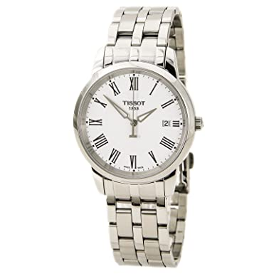 c81c501351d Image Unavailable. Image not available for. Color: Tissot T0334101101301 Watches  Classic Dream White DIAL