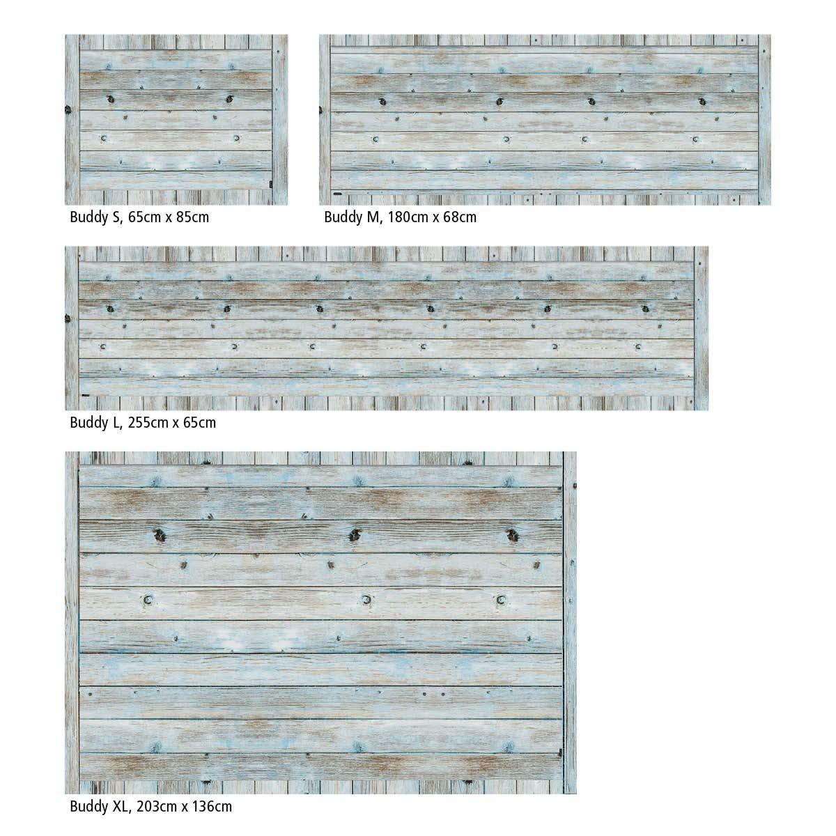 Myspotti - Buddy Chadi Rutschfeste Rutschfeste Rutschfeste Bodenschutzmatte aus Vinyl Badematte Küchenläufer Wohnzimmer Deko (180 x 68 cm) B07H5LV3N3 Lufer fe6edb