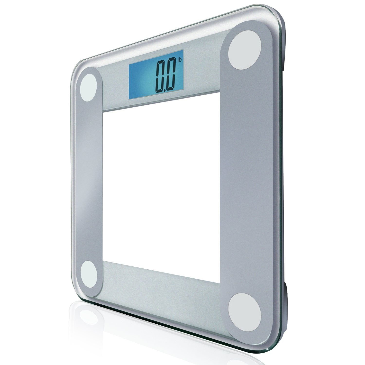 Amazon com eatsmart precision digital bathroom scale w extra large lighted display 400 lb free 1 yr protection from assurant home kitchen