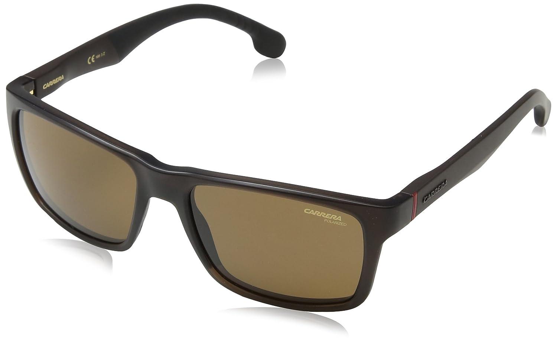 Carrera Unisex-Adult's 8024/LS SP Sunglasses, Matte Brown, 57 4IN