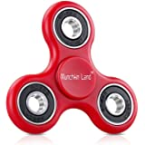Munchkin land Fidget Spinner Toy Stress Reducer with 608 Bearing, Ideal Fidget Cube like Toy, Color May Vary