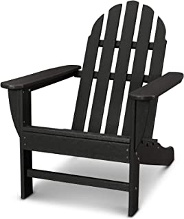 product image for Ivy Terrace IVAD4030LI Classics Adirondack Chair, Black