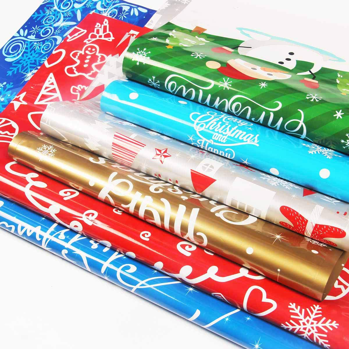 confezione da 30 pezzi Grande. con chiusura a cordoncino Sacchetti regalo natalizi assortiti Yiran