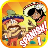 Learn Spanish Words 1: Vocabulary Flash Cards Game for Beginners