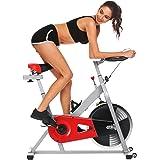 Bellar Sport Spin Bike, Belt Drive Indoor Cycling Bike Exercise Bike