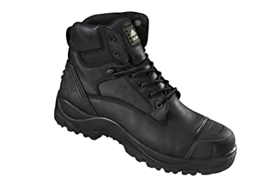 799bccade01 Rock Fall Slate Black S3 SRC Waterproof Composite Toe Cap Wide Fit Safety  Boots - RF460