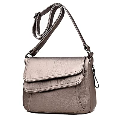 ae265bd0ff62 Image Unavailable. Image not available for. Color  7 Colors Leather Luxury  Handbags Women Bags Designer ...