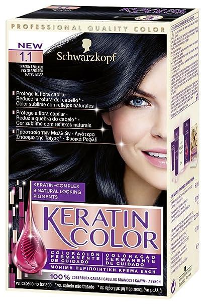 Keratin-Coloración permanente para el cabello, tono 5.7