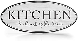 """Barnyard Designs Rustic Wooden Kitchen Wall Decor Sign, Country Farmhouse Decoration for Your Home, Kitchen, or Dining Room, 16"""" x 7"""""""