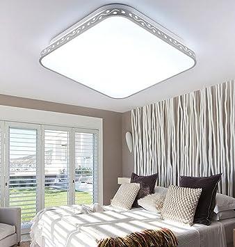 HOMEE Deckenleuchte   Moderne Minimalistische Wohnzimmer Gemütliche  Atmosphäre Atmosphäre Rechteckige LED Schlafzimmer Deckenleuchte   Home