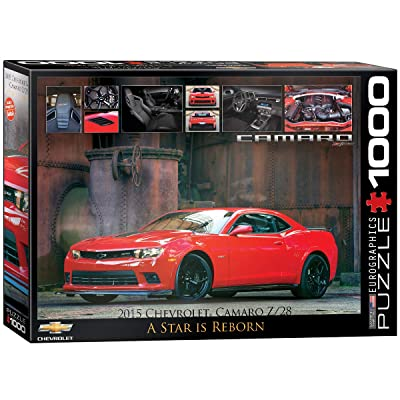 EuroGraphics 2015 Chevrolet Camaro Z/28: A Star is Reborn Jigsaw Puzzle (1000-Piece): Toys & Games