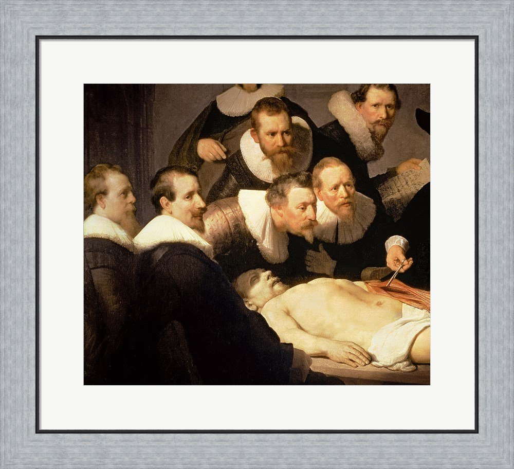 Amazon.com: The Anatomy Lesson of Dr. Nicolaes Tulp, 1632 (detail ...