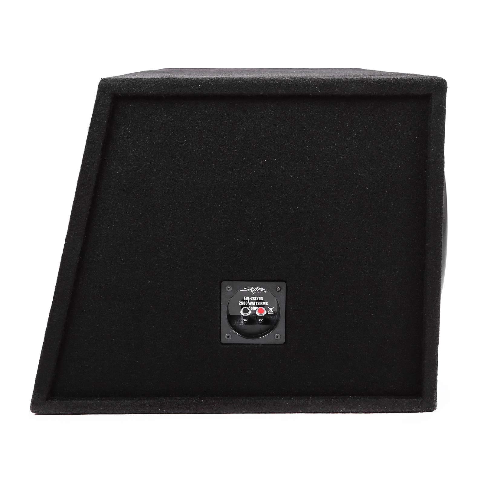Skar Audio Dual 12'' 5000W Loaded EVL Series Vented Subwoofer Enclosure | EVL-2X12D4 by Skar Audio (Image #3)