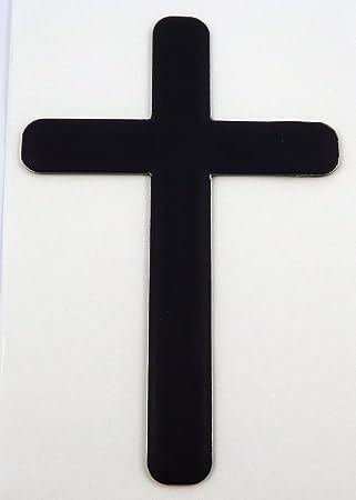 Jesus Cross God Christ Car Sticker Black Vinyl Decal choose size s2 2/'/' 6/'/' 20/'/'