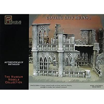 Pegasus Hobbies Gothic City Building Ruins Set 1: Toys & Games